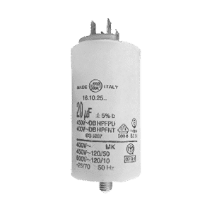 Condensadores permanentes Area