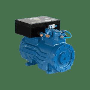 Compressor semi-hermetic piston EX-HGX12P/60-4S