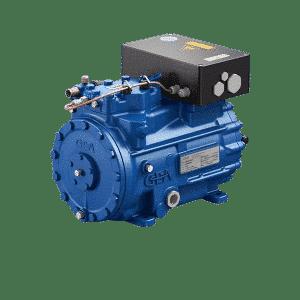 Compressor semi-hermetic piston EX-HGX22e/125-4S