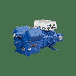 Compressor semi-hermetic piston EX-HGX6/1240-4S